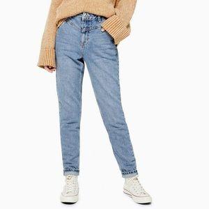 Topshop V-Panel Mom Jeans